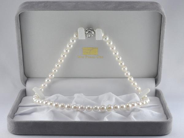 あこや真珠ネックレス7.0~7.5mm42cm