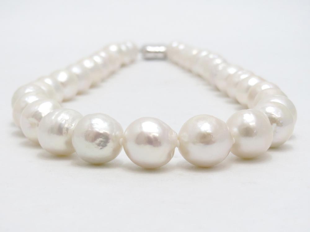 淡水真珠ネックレス(有核) y-n-594