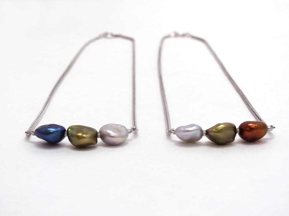 淡水真珠3colorネックレス y-n-610